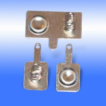 Metal Battery Contacts Designed